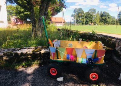 chariot de bricolage